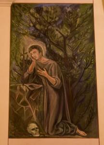 Particolare: San Leonardo penitente