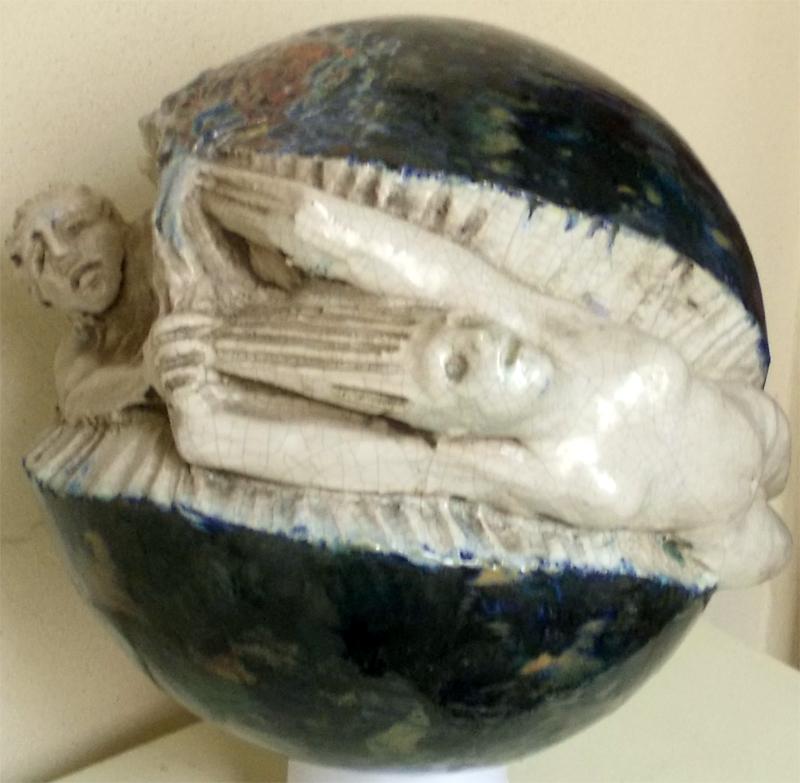 Apollo e Dafne in blu
